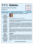 PCL Bulletin Issue 9